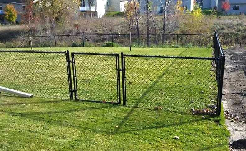 Chain Link Fencing is made of galvanized or steel coated wires.