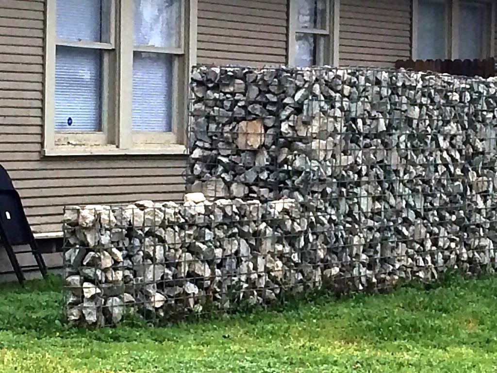 Stone Fencing is, in reality, is more of a wall kind than fencing.