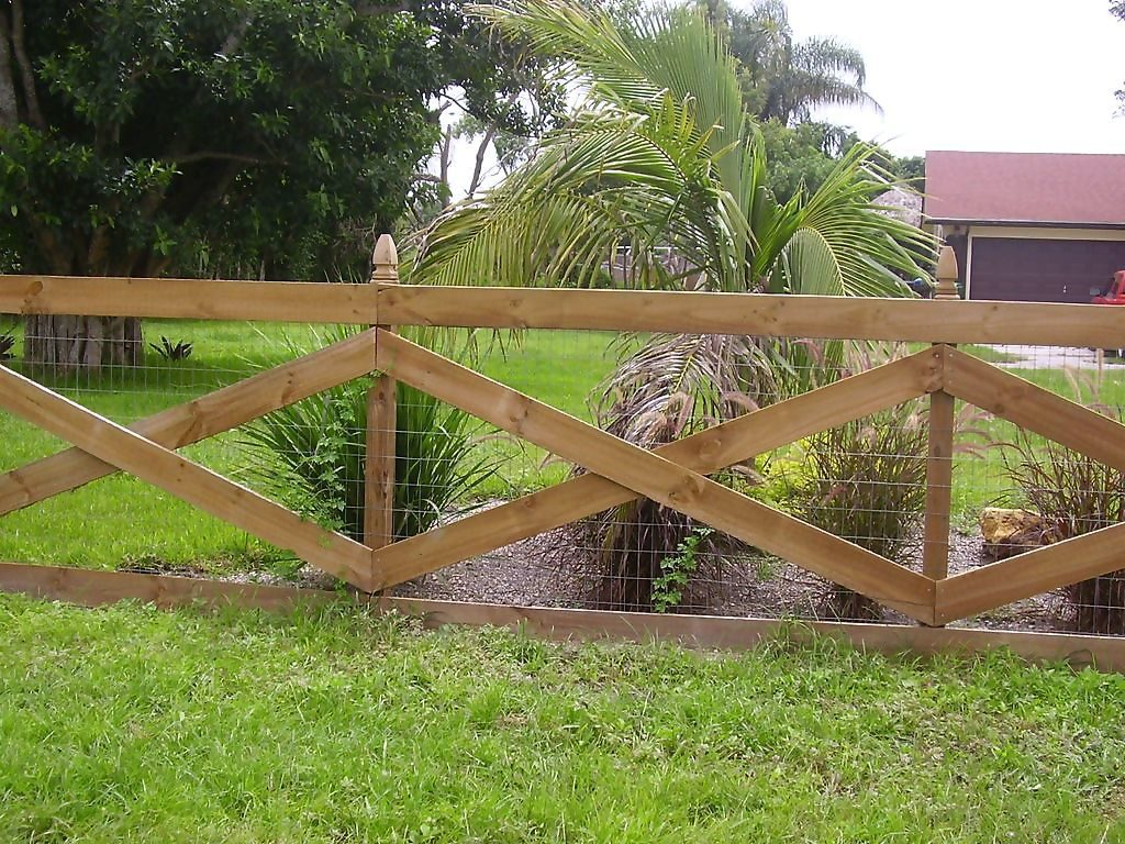 Wooden fencing can provide an ancient world kind style to a garden.