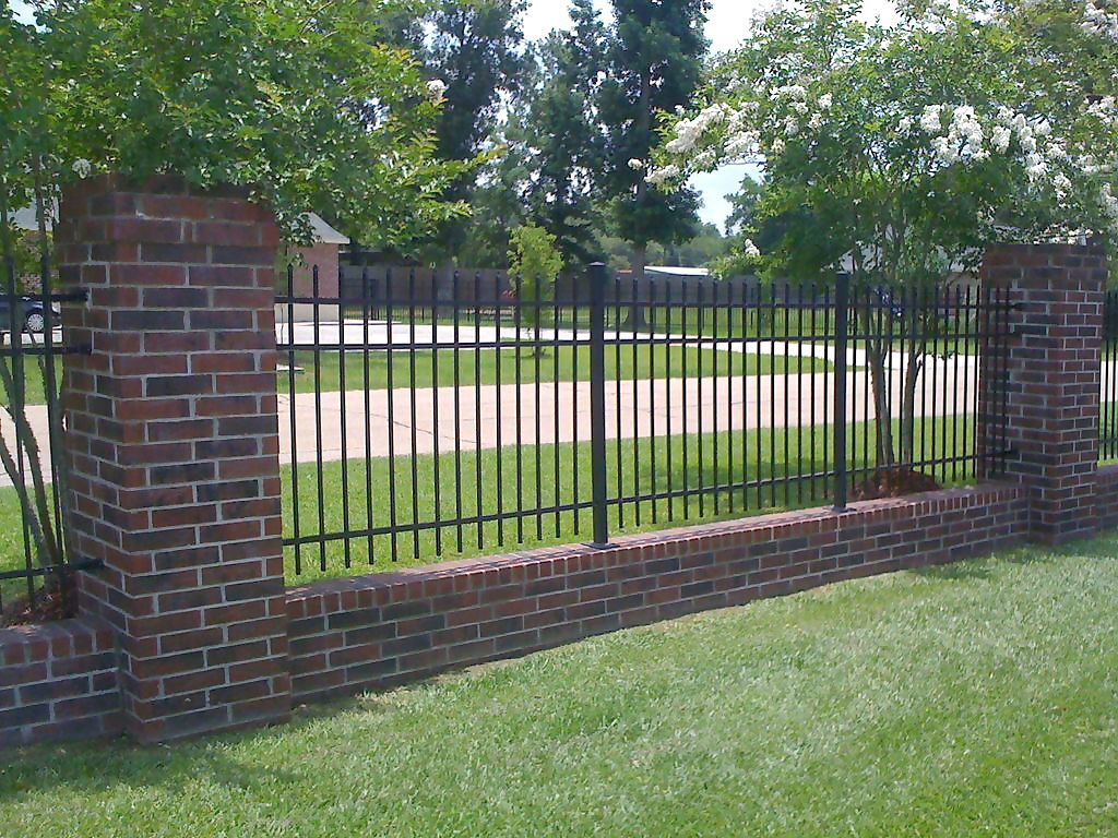 Wrought Iron fencing has more architectural enchantment and character.