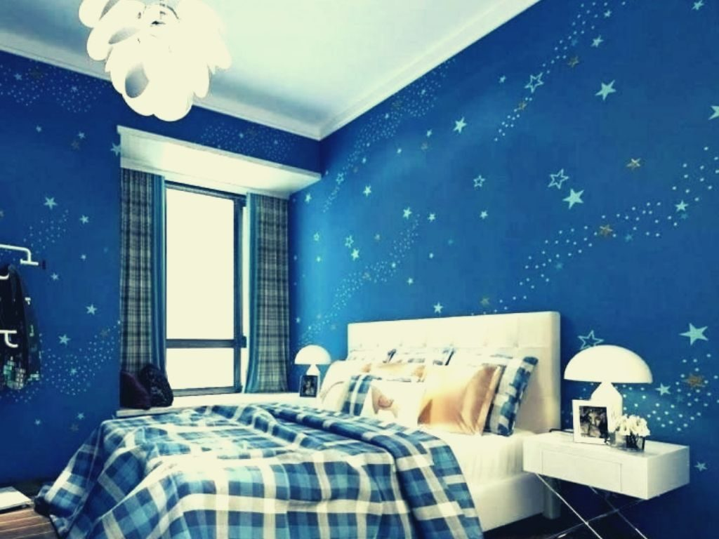 How to Install Blue Wallpaper?