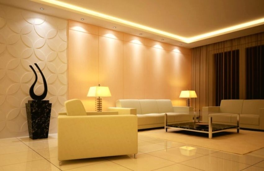 Lighting also brings a pleasant traditional design in a room.