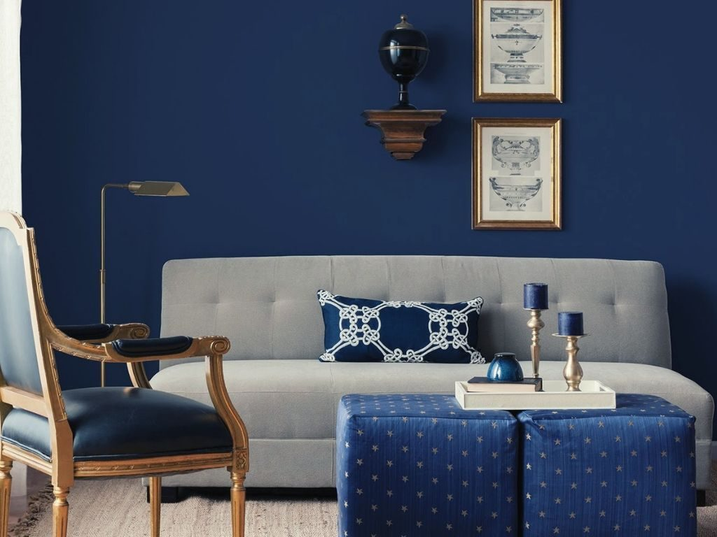. The High popularity of Blue Wallpaper for Blue Rooms