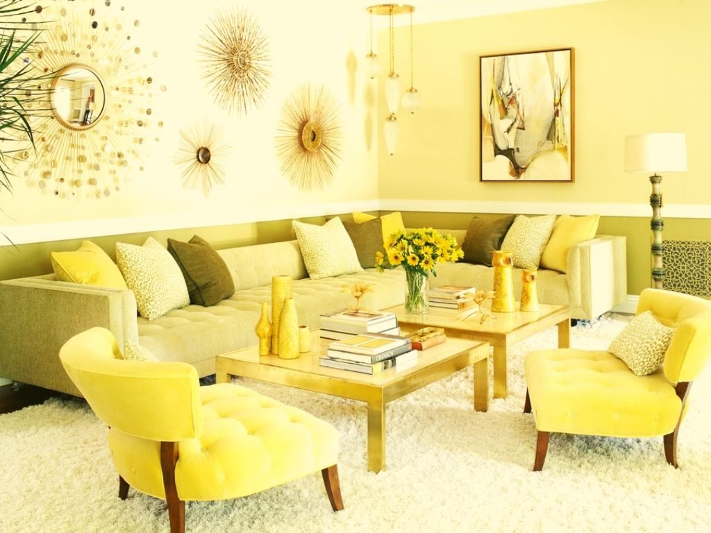 The qualities of using yellow wallpaper are to create a warm and radiant experience in the room.