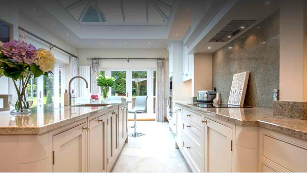 Color selection is another factor for traditional design kitchen style.