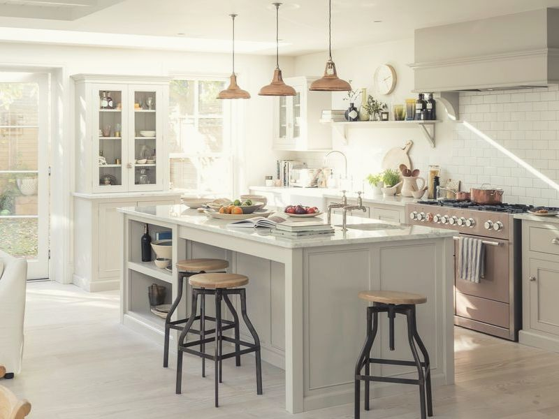 Choose Quality Materials for white kitchen cabinets.