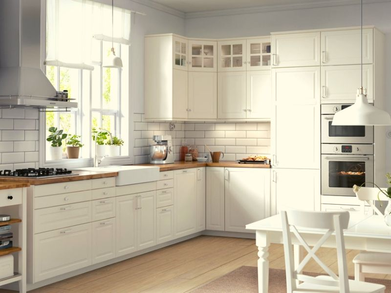 Get the Right Paint for white kitchen cabinets.