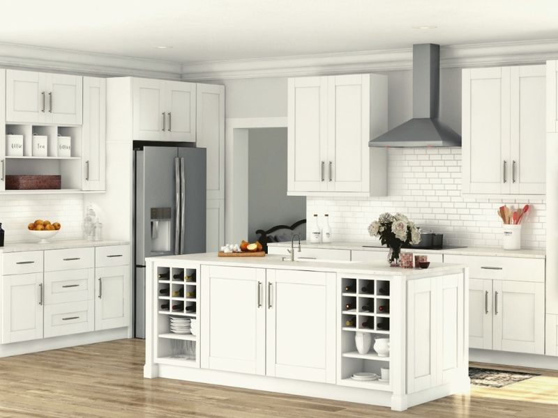 Quality and Cost in the Selection of White Kitchen Cabinets