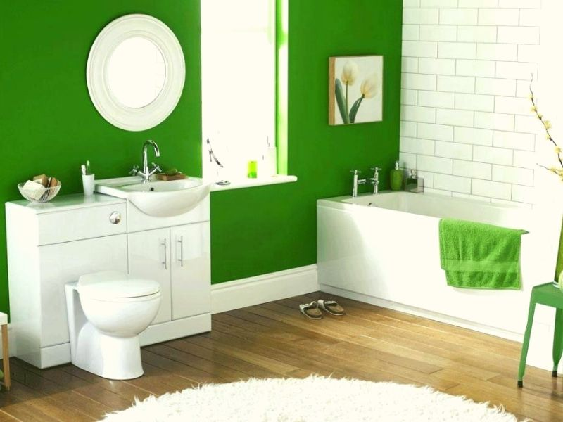 There is a wall to wall bathroom rugs that are suitable even for the smaller bathroom