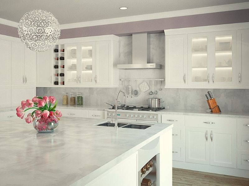 White Kitchen Cabinets are the Best Choice for Dream Kitchens.