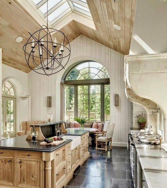 13+ Modern French Country Kitchen Design ideas that you need ...