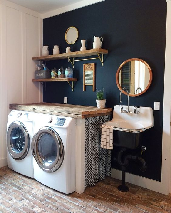 10 Attractive Laundry Room Paint Color Ideas To Consider
