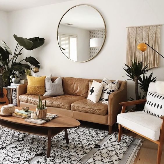 16 Inspiring Living Room Mirror Ideas To Consider For Your Home