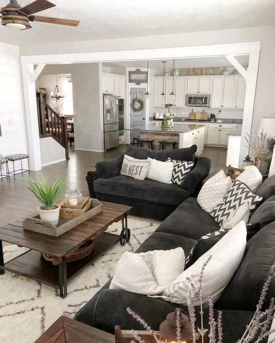 15 Rustic Living Room Furniture Ideas