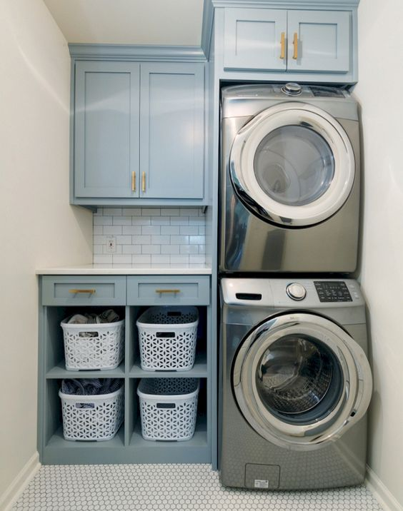 12 Amazing Small Laundry Room Ideas For Small Places
