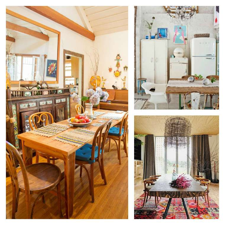 14 Charming Boho Dining Room Decor Ideas For A Trendy Style Of Dining Room