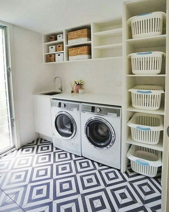 15 Perfect Small Laundry Room Storage Ideas To Consider