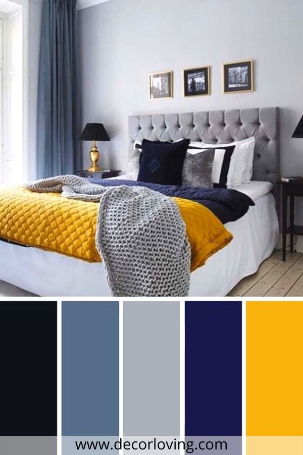 bedroom color ideas with yellow