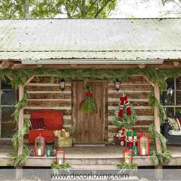 18 Diy Outdoor Christmas Decoration Ideas To Complete Your