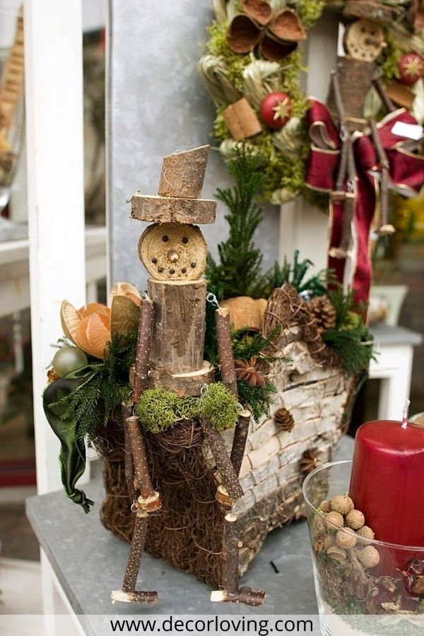 19 Diy Wooden Christmas Decoration With Wood Ornaments