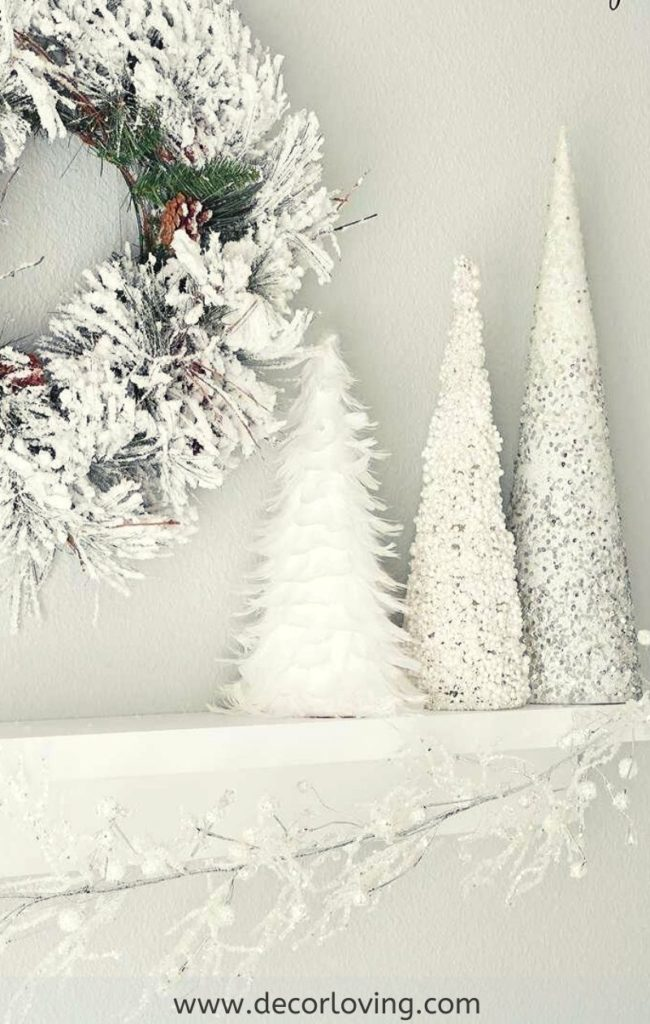 14 Diy White Christmas Decor Ideas For Home In A Modern Way