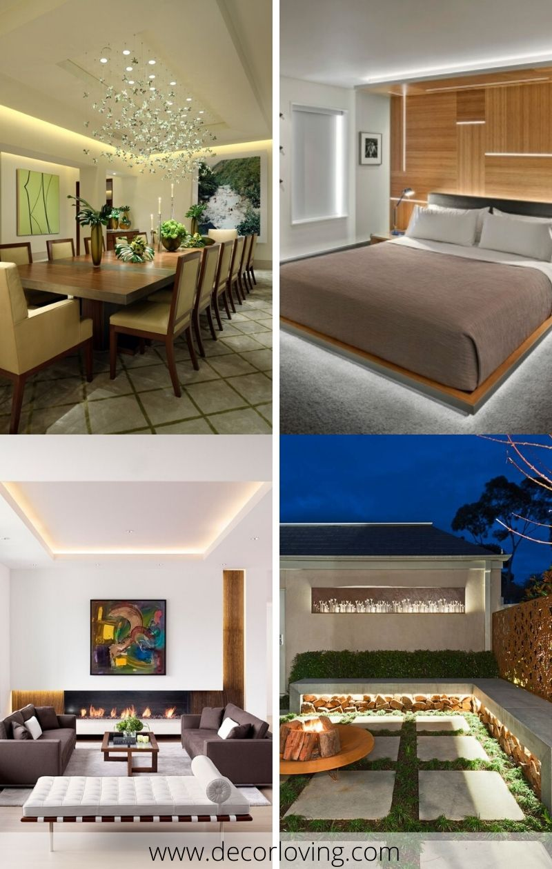 trendy indirect led lighting ideas for every room in the house