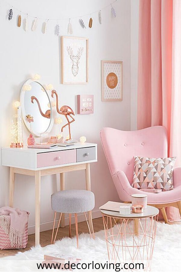25 Girls Bedroom Ideas In Pink And Gold Some Chic And Inspiring Ideas