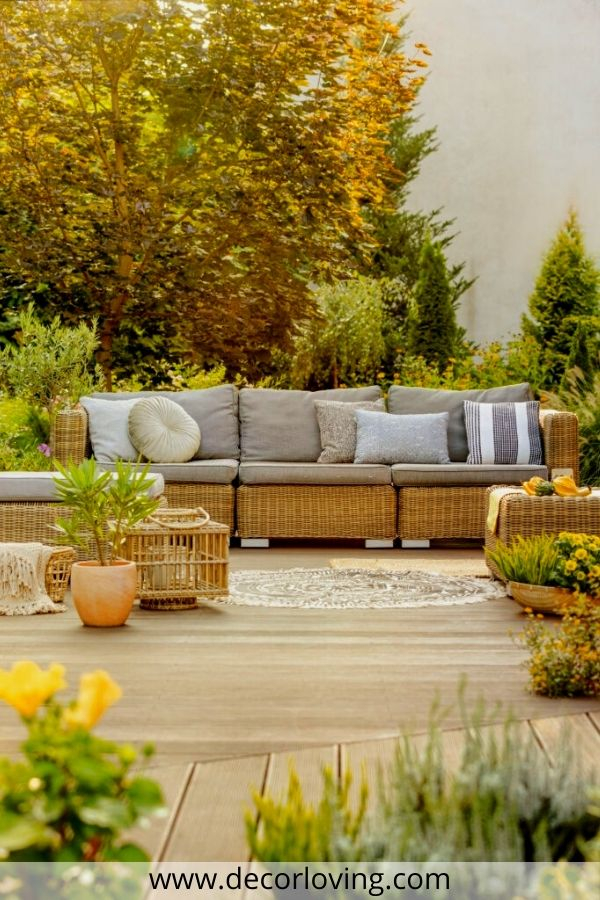 Outdoor Patio Furniture Ideas For You To Decor Your Home